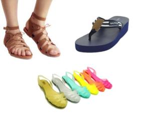 Los zapatos ideales para la playa